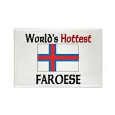 World's Hottest Faroese Rectangle Magnet