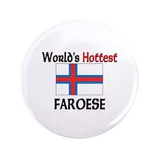 "World's Hottest Faroese 3.5"" Button"