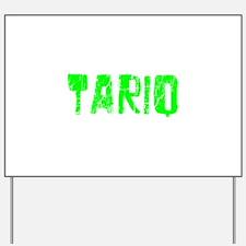Tariq Faded (Green) Yard Sign