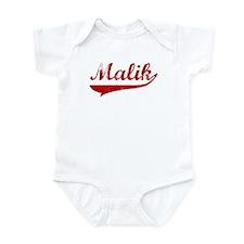 Malik (red vintage) Infant Bodysuit