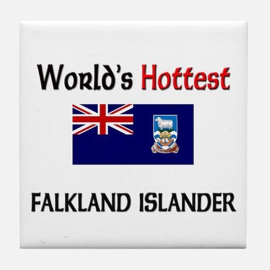 World's Hottest Falkland Islander Tile Coaster