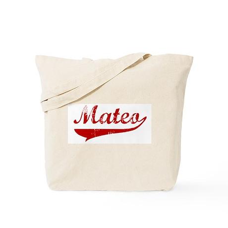 Mateo (red vintage) Tote Bag