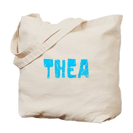 Thea Faded (Blue) Tote Bag