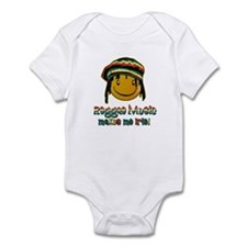 Reggae music makes me Irie! Infant Bodysuit