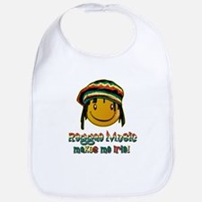 Reggae music makes me Irie! Bib