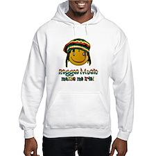 Reggae music makes me Irie! Hoodie