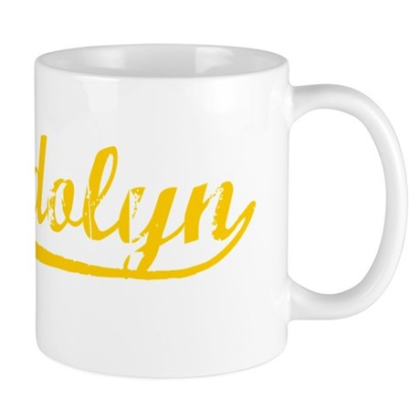 Vintage Gwendolyn (Orange) Mug