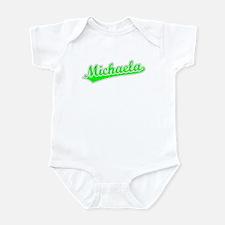 Retro Michaela (Green) Infant Bodysuit