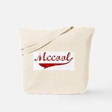 Mccool (red vintage) Tote Bag