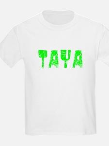 Taya Faded (Green) T-Shirt