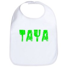 Taya Faded (Green) Bib