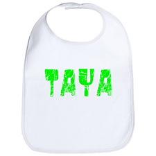 Taya Faded (Green) Bib