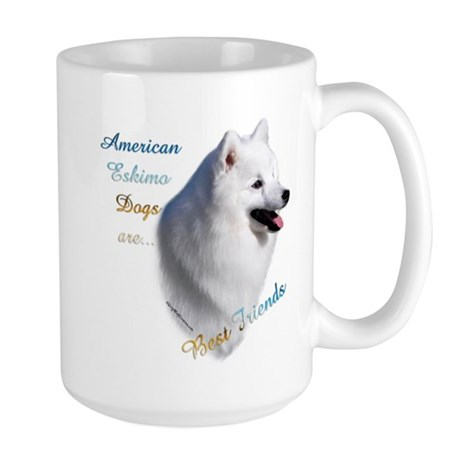 Eskimo Best Friend1 Large Mug