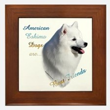 Eskimo Best Friend1 Framed Tile