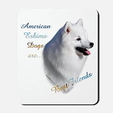Eskimo Best Friend1 Mousepad