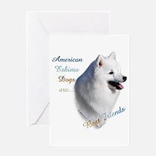 Eskimo Best Friend1 Greeting Card