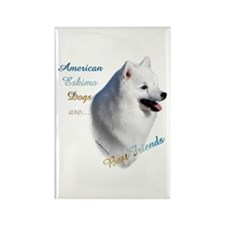 Eskimo Best Friend1 Rectangle Magnet