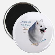 Eskimo Best Friend1 Magnet