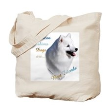 Eskimo Best Friend1 Tote Bag