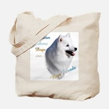 Eskimo Best Friend1 Tote Bag