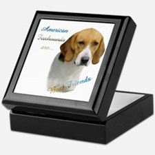 Foxhound Best Friend1 Keepsake Box