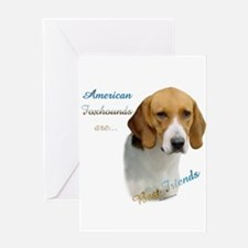 Foxhound Best Friend1 Greeting Card