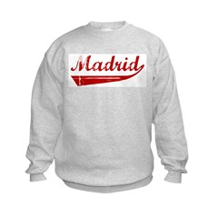 Madrid (red vintage) Sweatshirt
