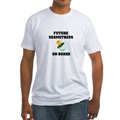 Maternity - Future Seamstress Fitted T-Shirt
