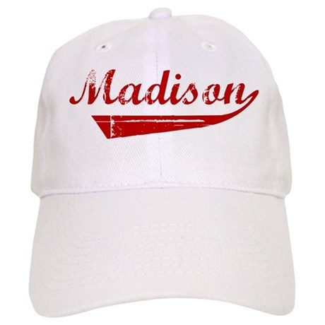 Madison (red vintage) Cap