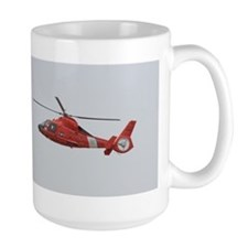 U.S. Coast Guard Helicopter Mug