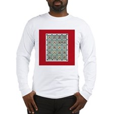 Christmas Holiday Quilt Long Sleeve T-Shirt