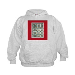 Christmas Holiday Quilt Hoodie