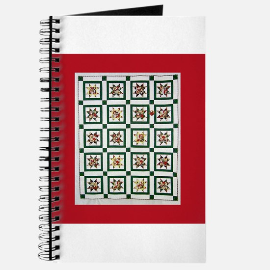 Christmas Holiday Quilt Journal