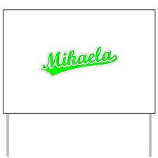 Retro Mikaela (Green) Yard Sign