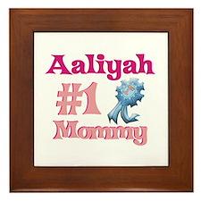 Aaliyah - #1 Mommy Framed Tile