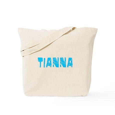 Tianna Faded (Blue) Tote Bag