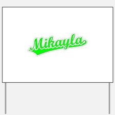 Retro Mikayla (Green) Yard Sign