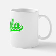 Retro Mikayla (Green) Mug