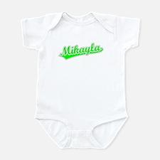 Retro Mikayla (Green) Infant Bodysuit