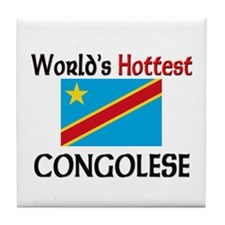 World's Hottest Congolese Tile Coaster