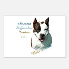AmStaff Best Friend1 Postcards (Package of 8)