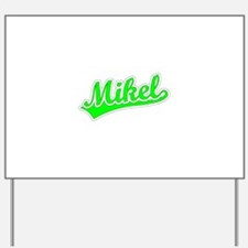 Retro Mikel (Green) Yard Sign
