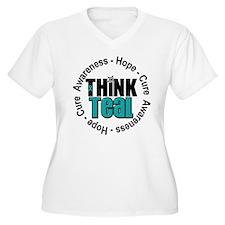 Think Teal v3 T-Shirt