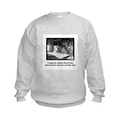 Sewing - Count the Stitches Sweatshirt