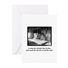 Sewing - Count the Stitches Greeting Cards (Pk of
