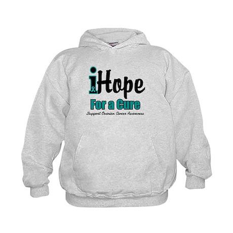 iHope Ovarian Cancer Kids Hoodie