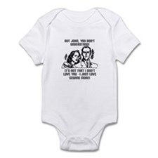 I Love Sewing More Infant Bodysuit