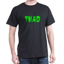 Thad Faded (Green) T-Shirt