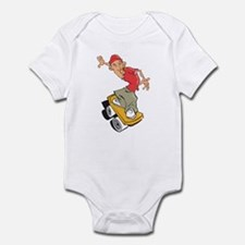Skateboarder Infant Bodysuit