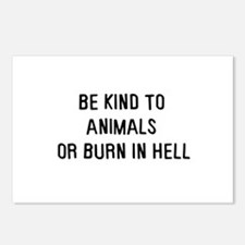 Be kind to animals Postcards (Package of 8)